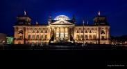 <h5>Der Reichstag </h5><p>Der Reichstag in Berlin</p>